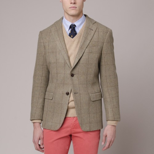 Veston Newton Classic Tweed Lana Italiana
