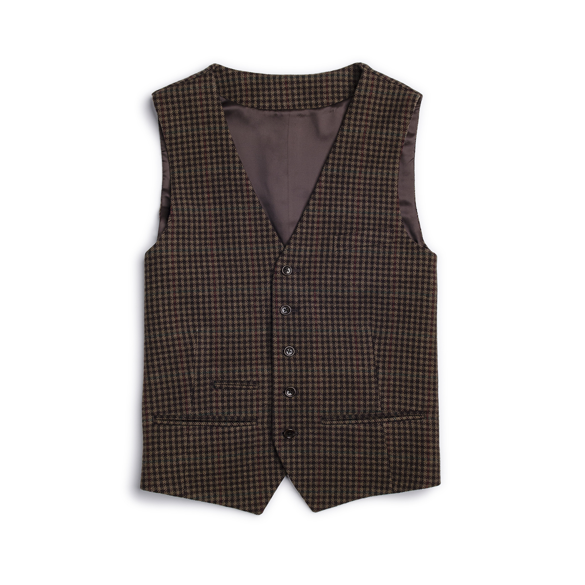 Gillet Lana Tweed Check