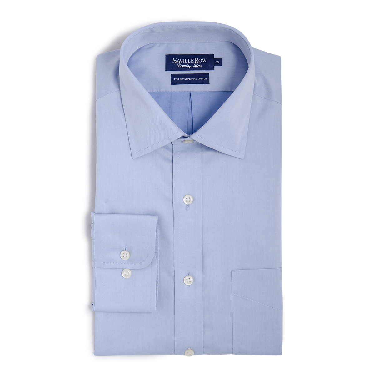Camisa Vestir Lisa Collar Point Small Twill