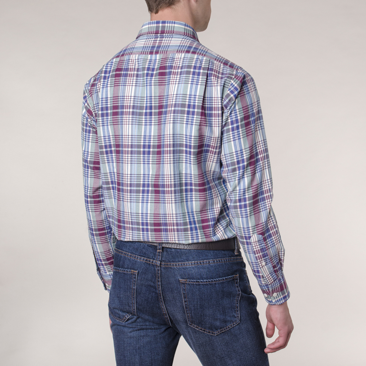 Camisa Sport Lisa Crosby Ground Check Twill