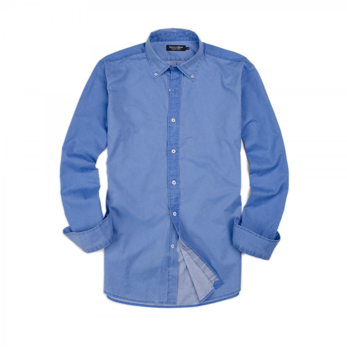 Camisa Button Down Manga Larga Sport