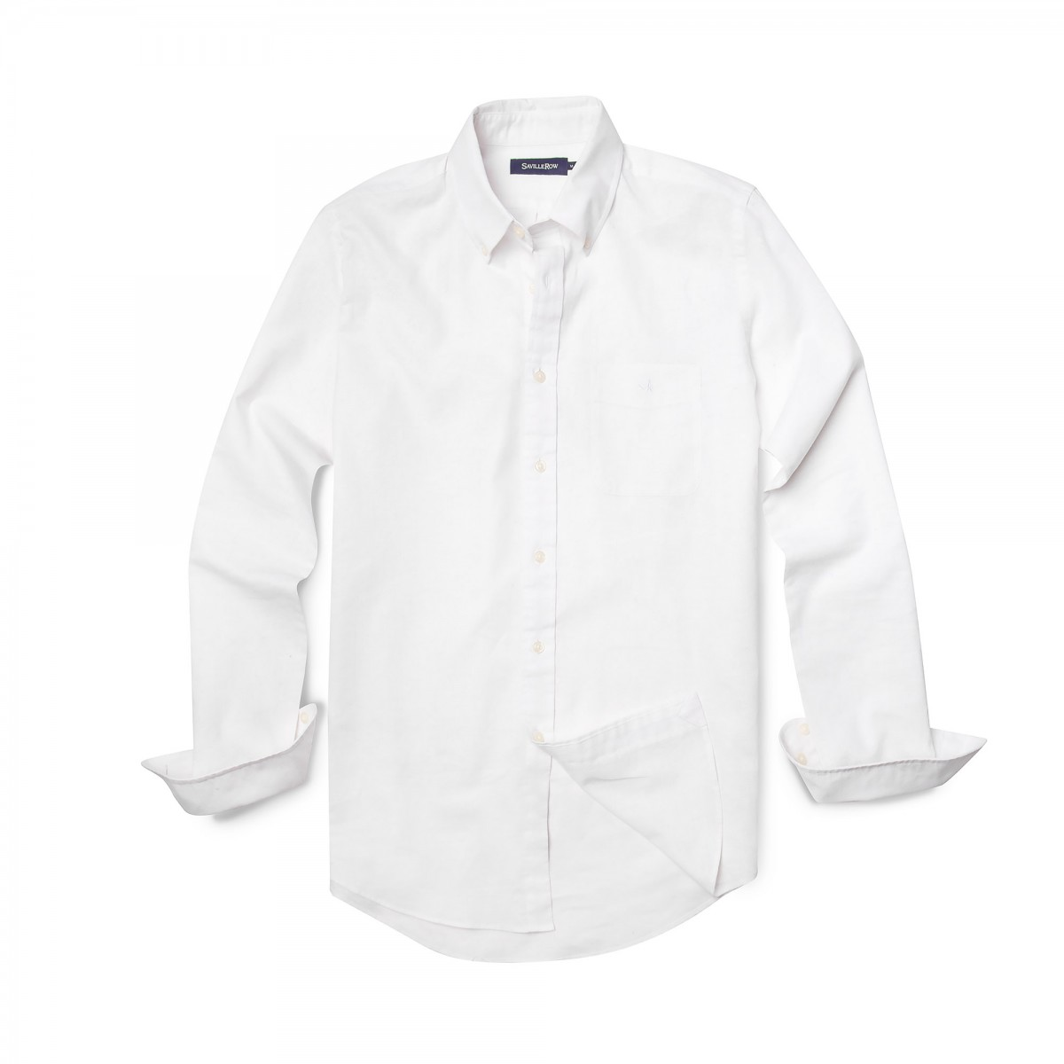Camisa Sport Button Down Weekend Algodón Lino Lisa