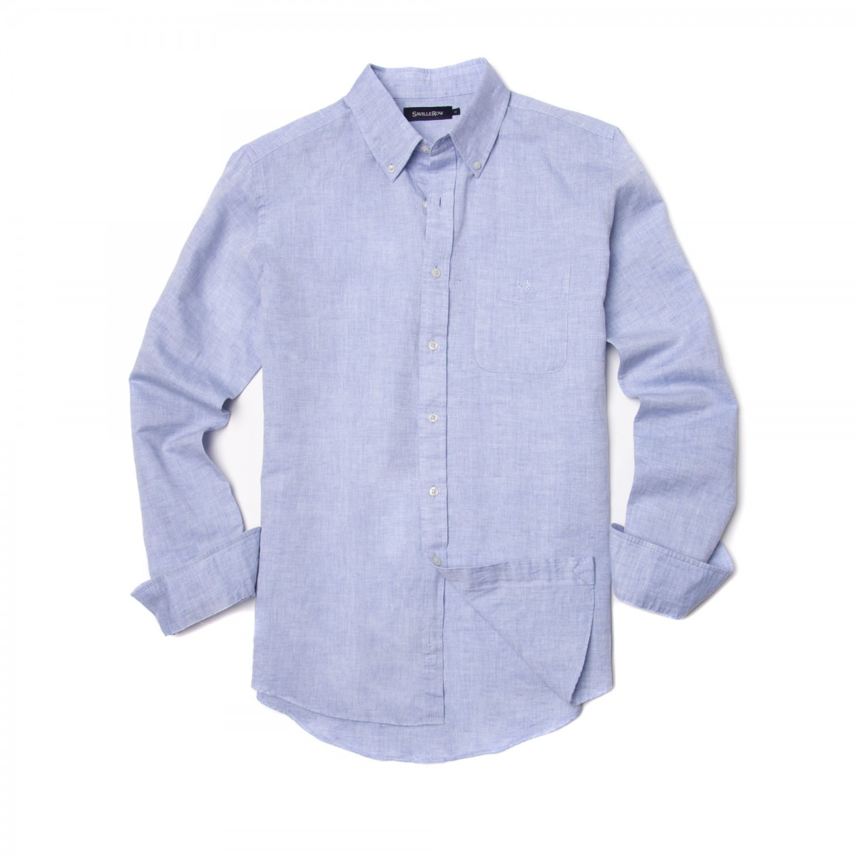 Camisa Sport Button Down Weekend Lino - Algodon Lisa