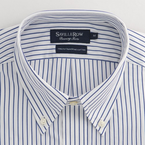 Camisa Beaming Button Down Space Stripe
