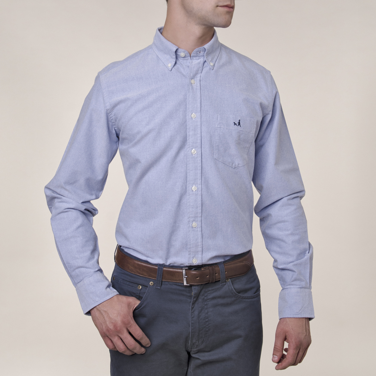 Camisa Sport Lisa Casual Oxford