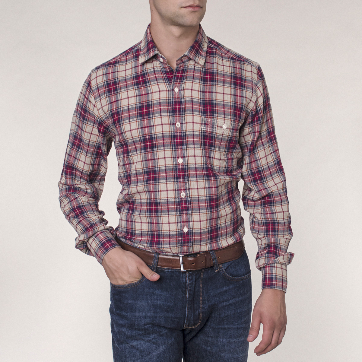 Camisa Sport Worker Expedition Check