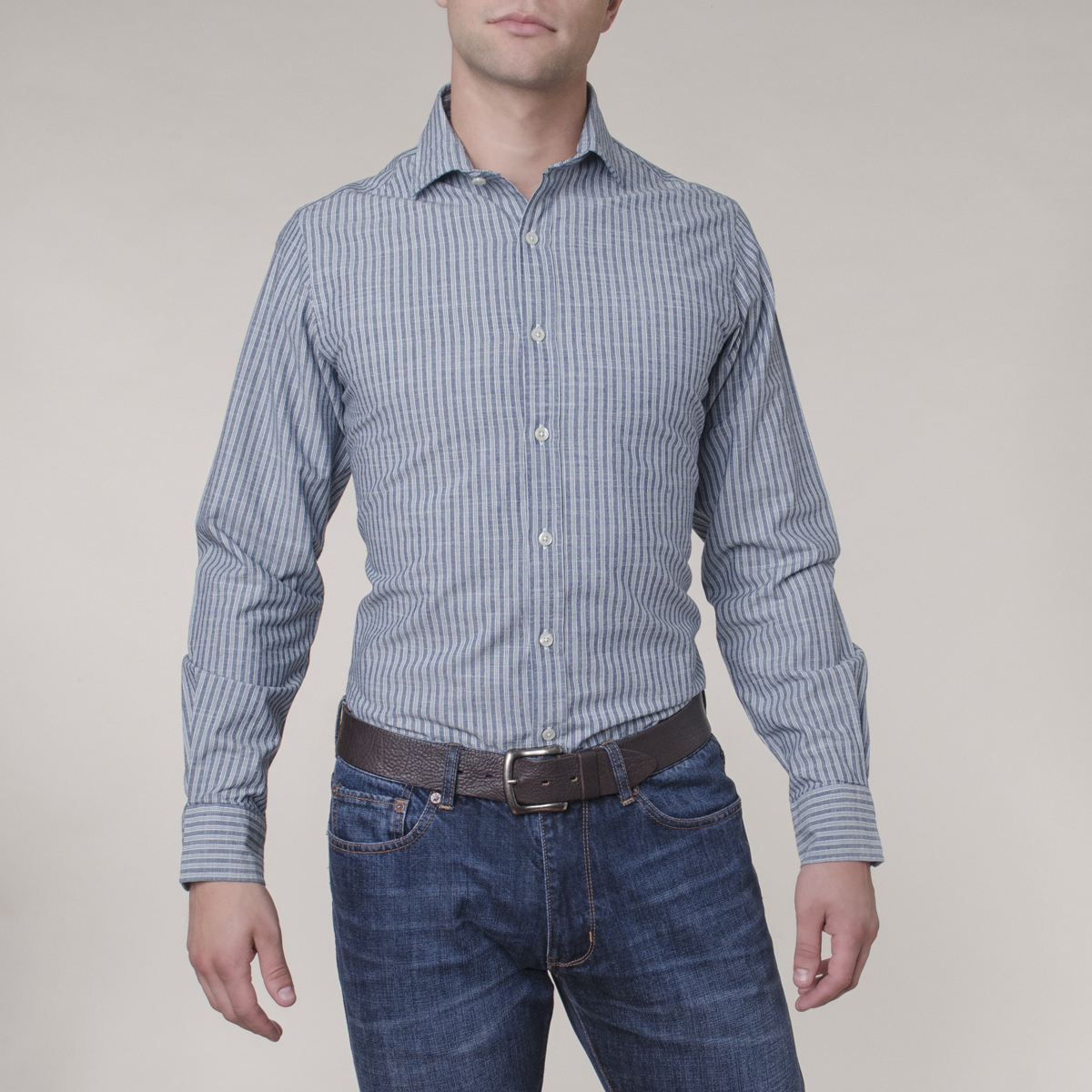 Camisa Sport Crosby Triple Stripe