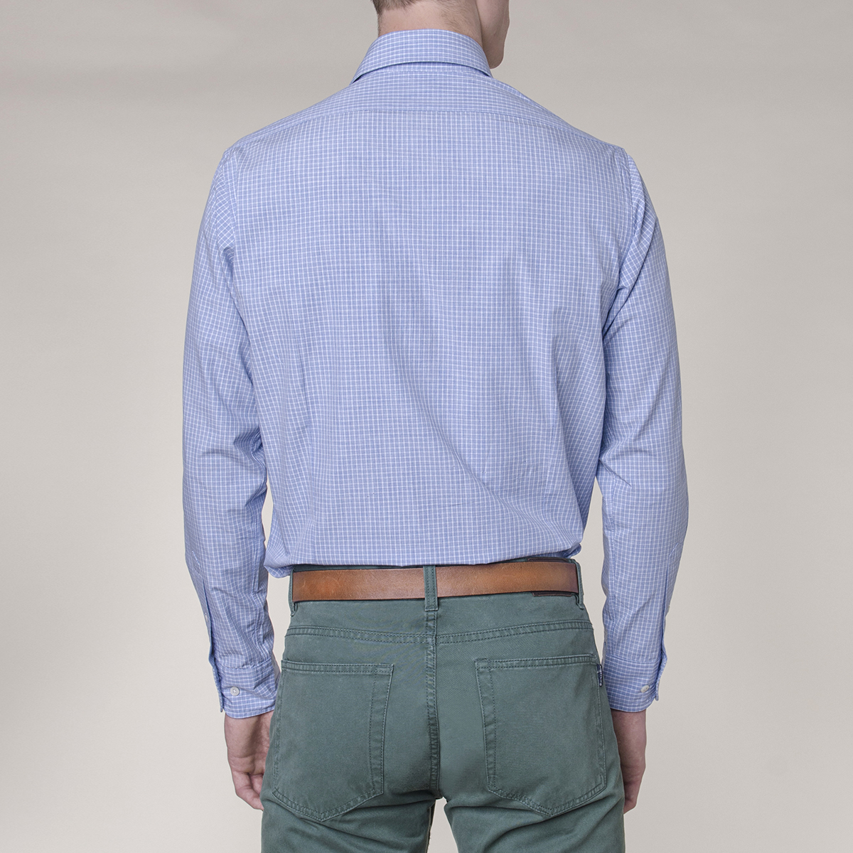 Camisa Sport Ascott Slim Window Heather Check