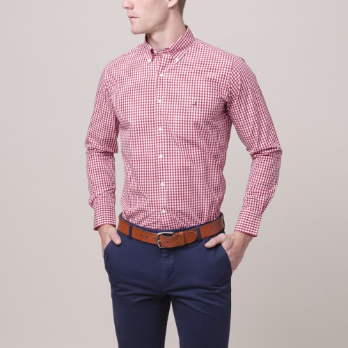Camisa Button Down Weekend a Cuadros Sport