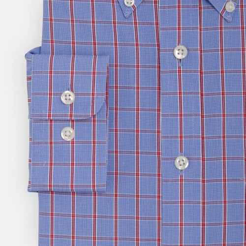 Camisa Button Down Vestir Non Iron Manga Larga