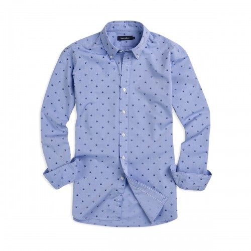 Camisa Button Down Weekend Estampada Sport