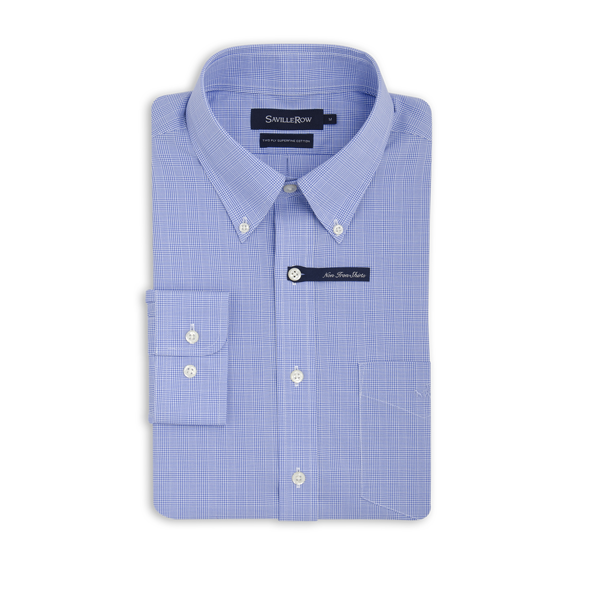Camisa Non Iron Beaming Clásica Microcheck