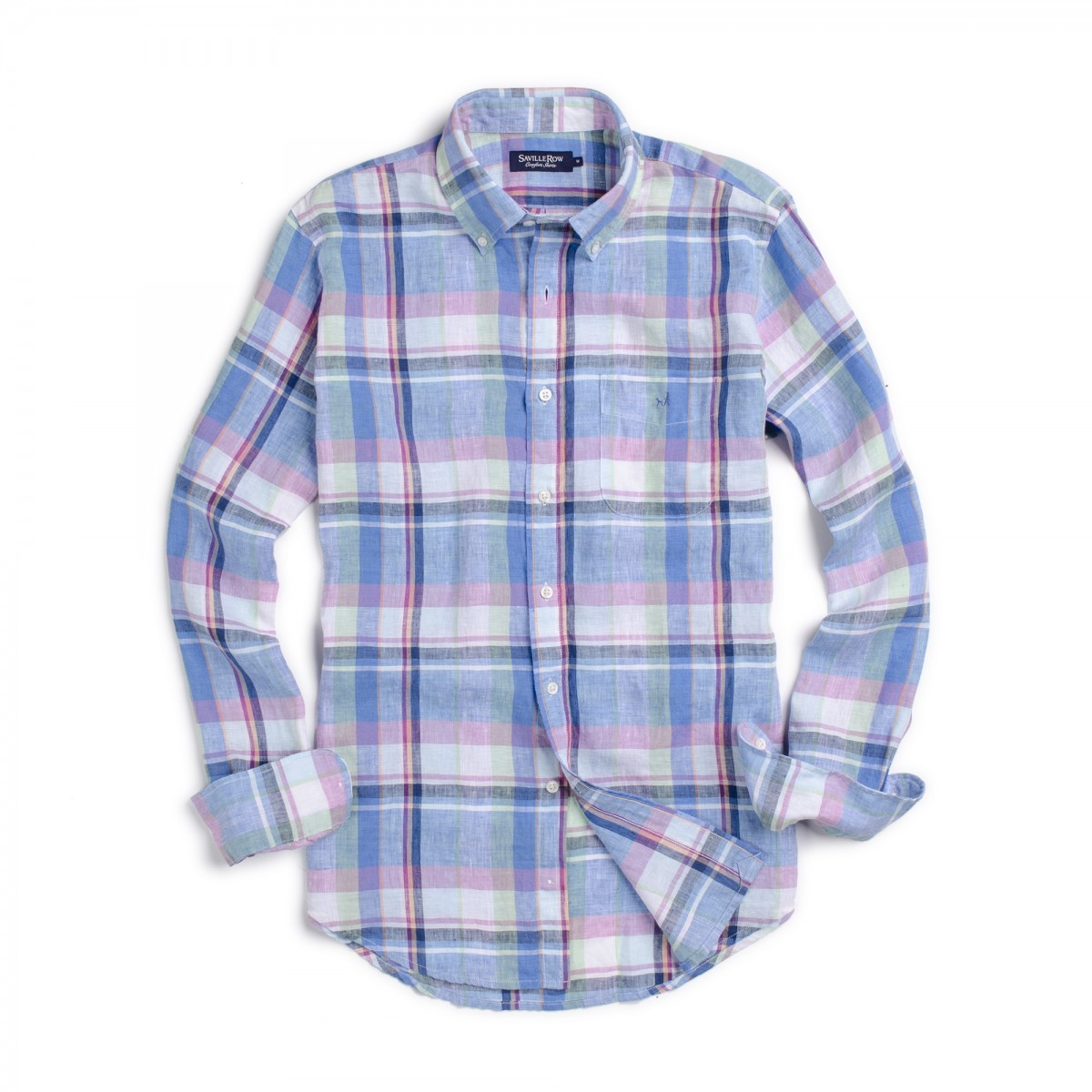 Camisa Sport Button Down Weekend Lino Madras