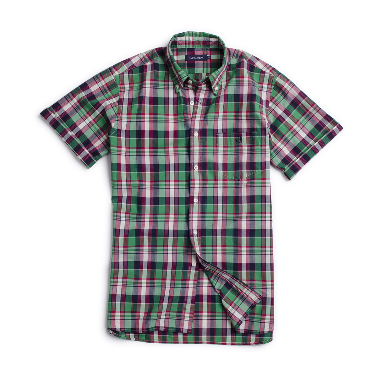 Camisa Sport Madras Preppy Check