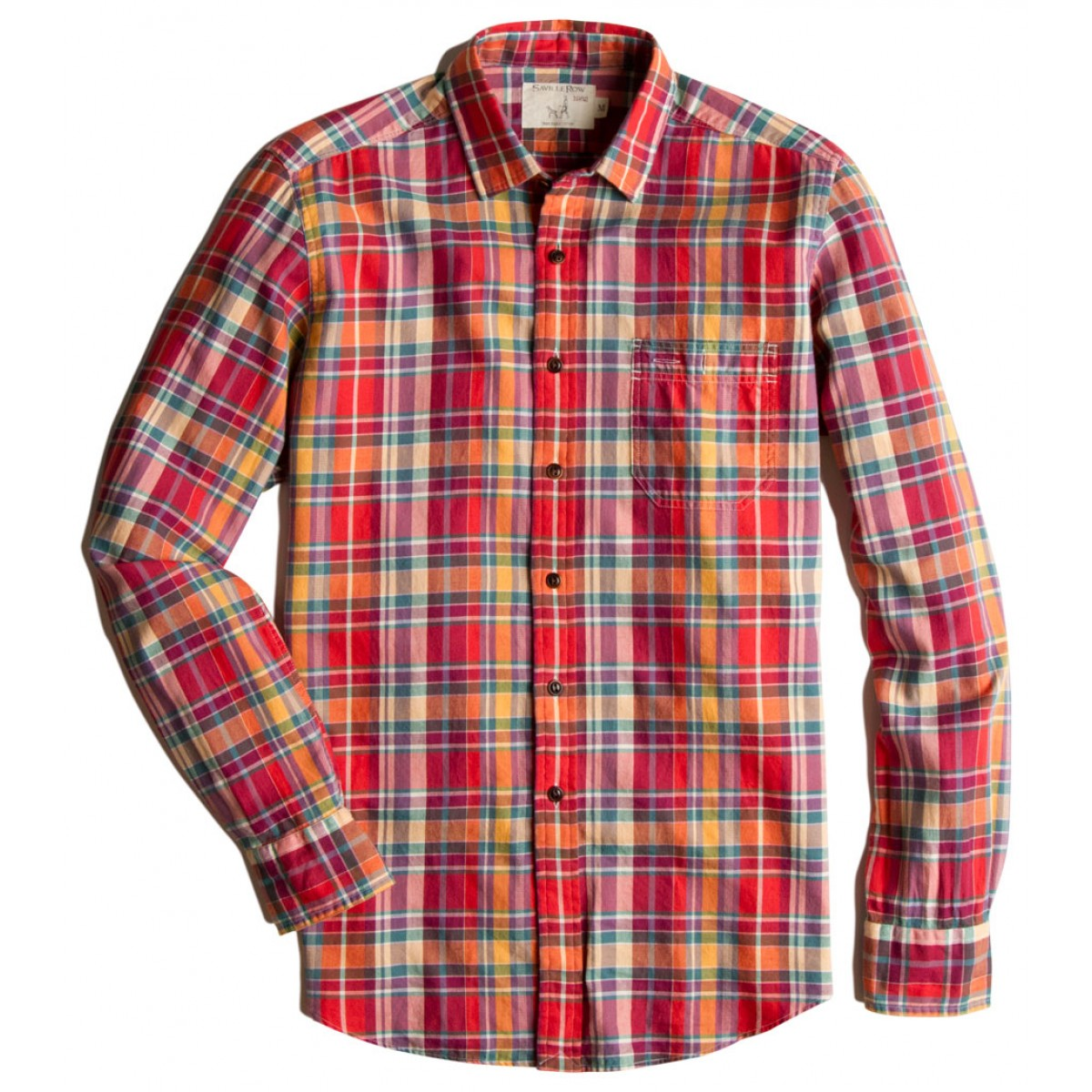 camisa sport ftsia m/l worker2 anchorage check