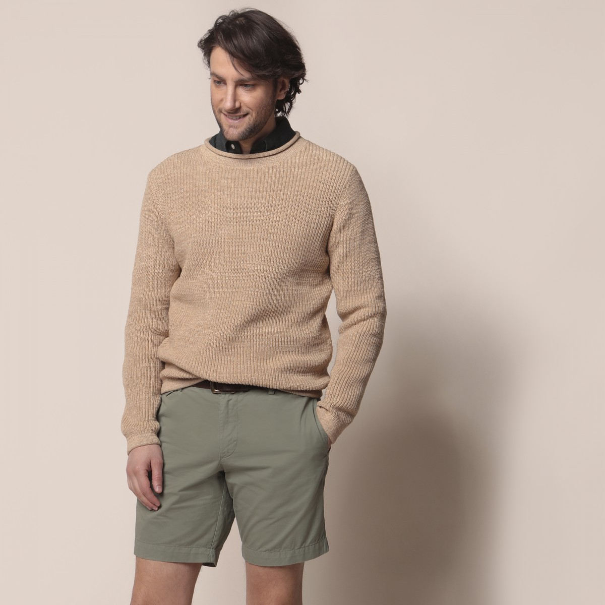 Sweater Roll Neck Liso
