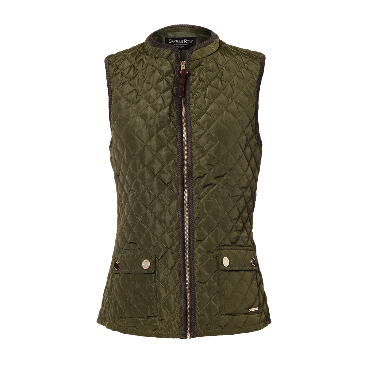 Parka Sin Mangas Quilted