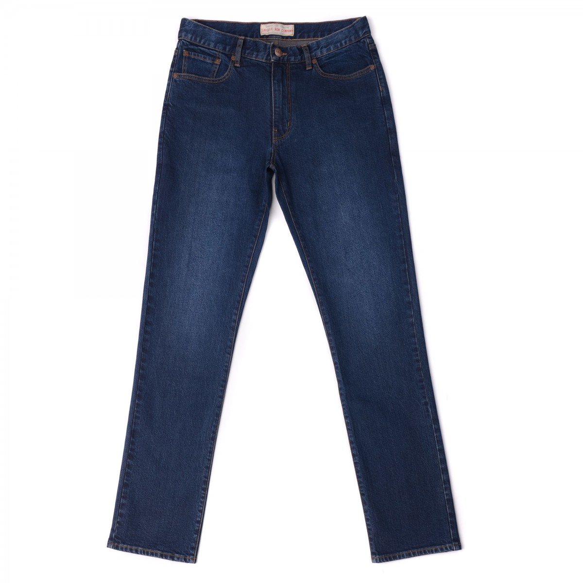 Jeans Slim Denim Comfort Lavado Raw