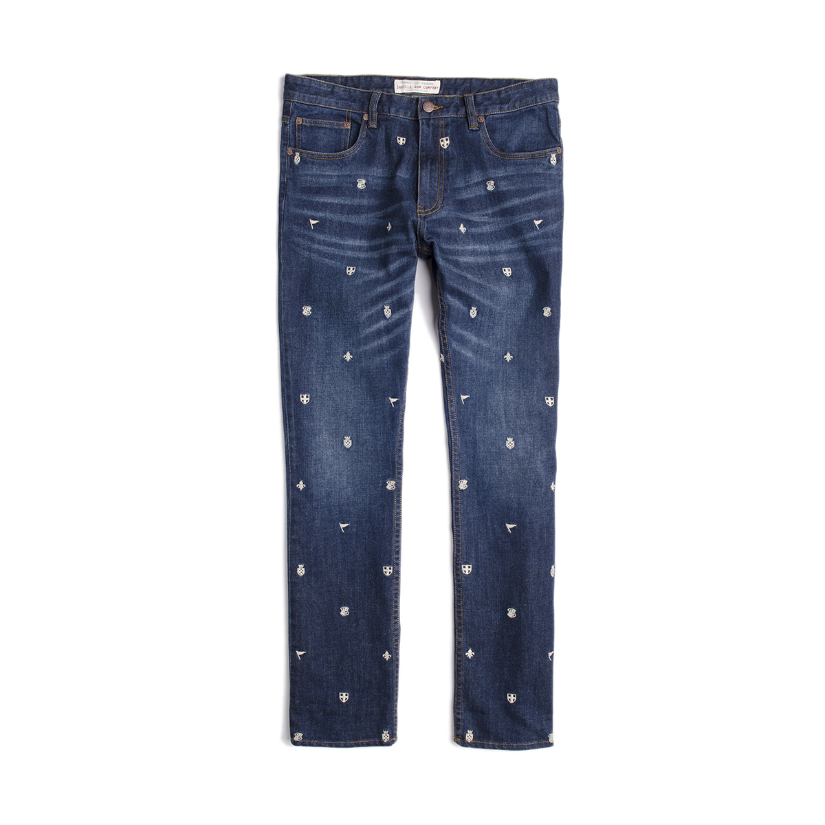 Jeans Slim Bordados