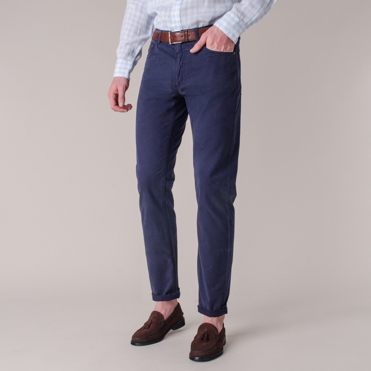 Pantalon 5 Pocket Calce Slim