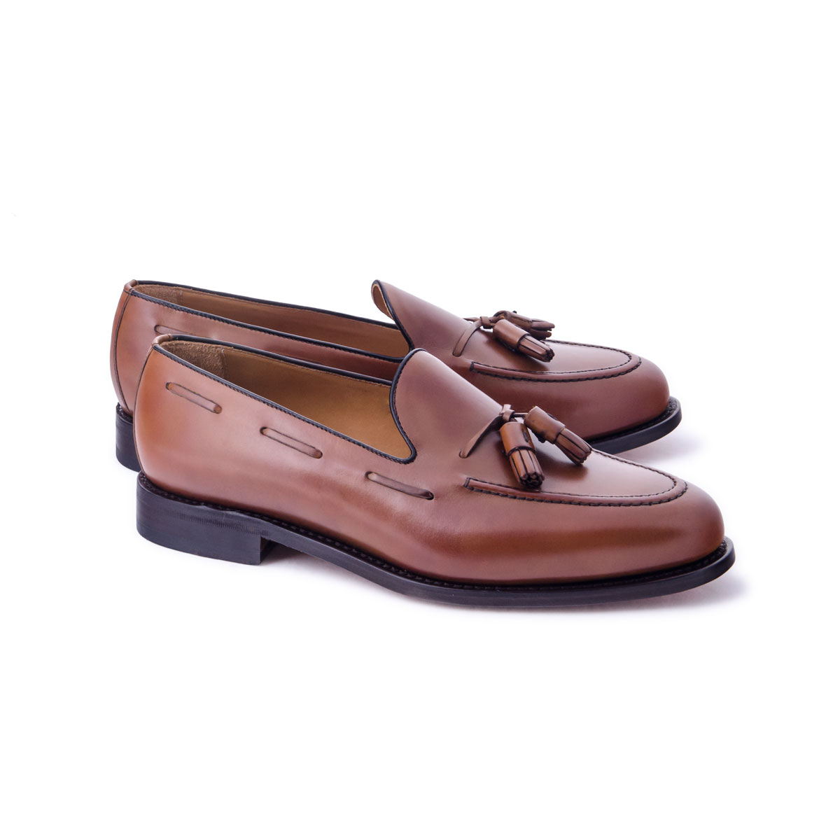 Zapato Vestir Good Year Welt Mocasin Monk Pompones