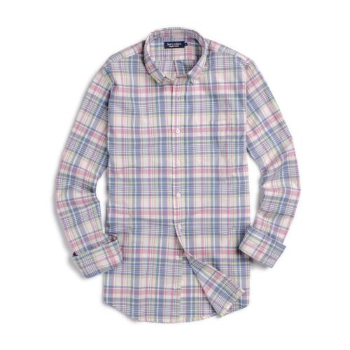 Camisa Sport Button Down Weekend Cuadro Madras