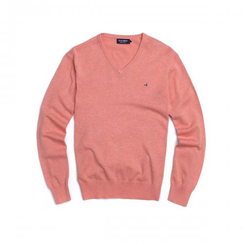 Sweater Clasico Manga Larga Cuello V