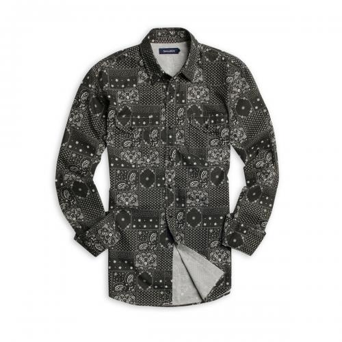 Camisa New Dakota Estampada Sport